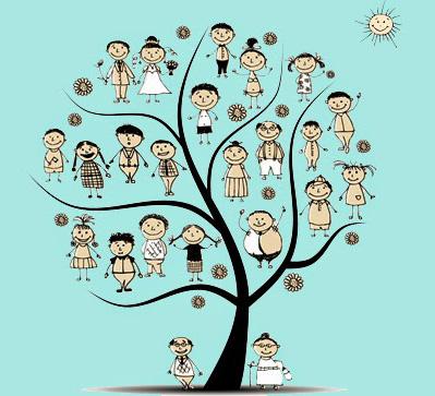 Trabajando con el árbol familiar