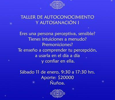 TALLER DE AUTOCONOCIMIENTO Y AUTOSANACIÓN I