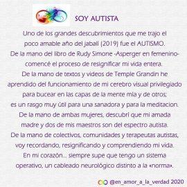 Soy Autista