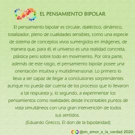 El pensamiento bipolar