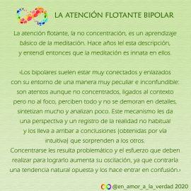 Atención flotante bipolar